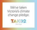 Take2 Climate Change Plege logo