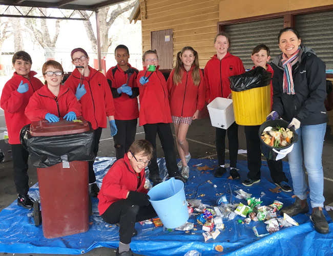 Sale Primary School Waste Champions